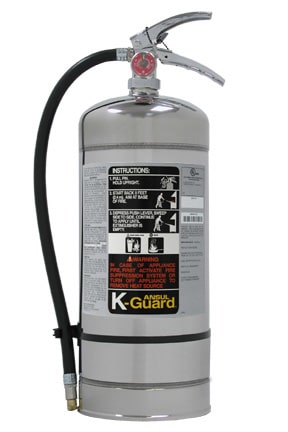 K-GUARD fire extinguishers