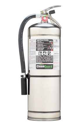 Cleanguard Clean-agent Fire Extinguishers