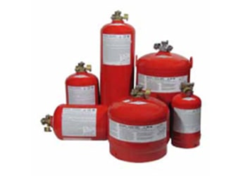 Dry Chemical Fire Suppression Tanks
