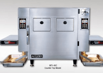 Ventless Deep Frying System